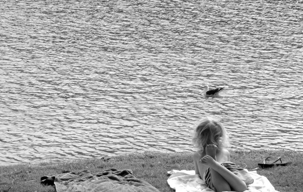 Nós só podemos desfrutar do momento presente — Foto: Ananda Porto/TG