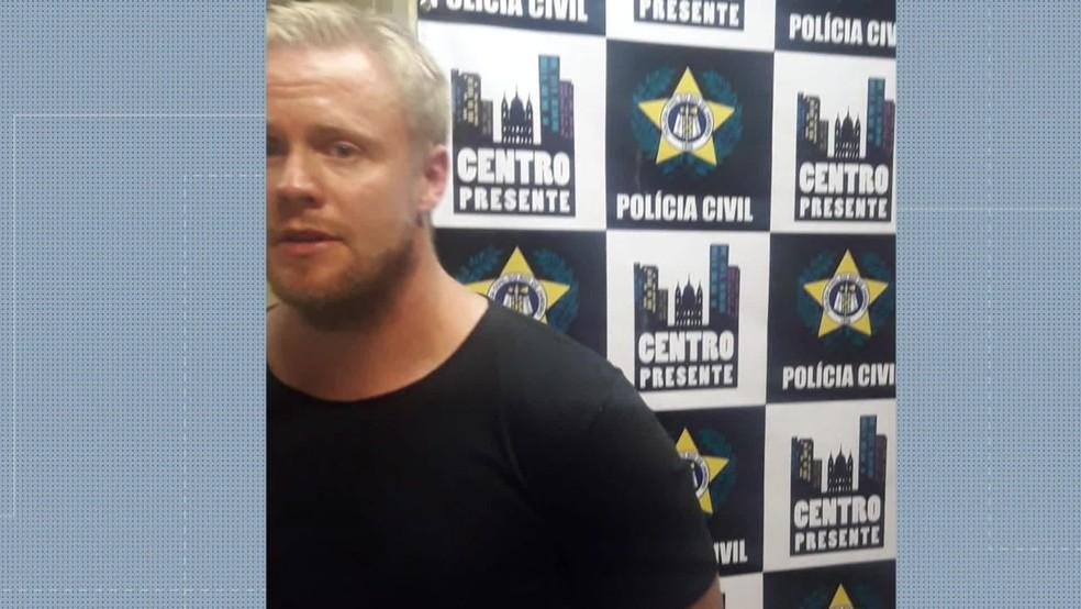 Esper Petterson, preso em flagrante por importunação sexual — Foto: Divulgação/Centro Presente