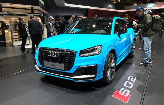 Audi SQ2 é revelado em Paris  (Foto: Michelle Ferreira/Autoesporte )