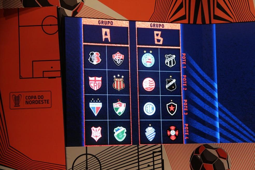 Sorteio da Copa do Nordeste foi realizado em Maceió — Foto: Denison Roma/GloboEsporte.com