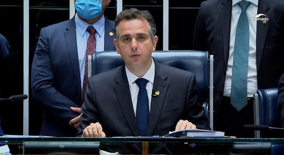 Rodrigo Pacheco, do DEM, é eleito presidente do Senado com apoio de  Bolsonaro e 10 partidos | Política | G1