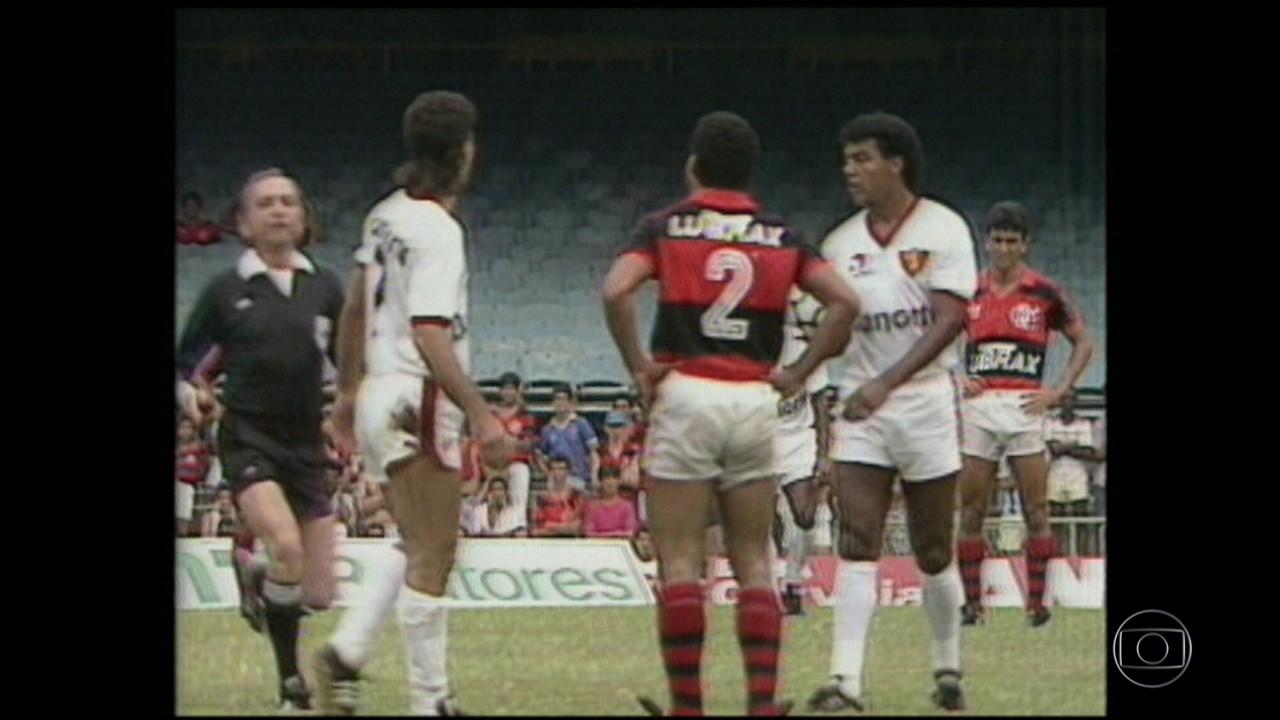 Em 1988, Flamengo e Sport se enfrentaram depois de polêmica com título do ano anterior