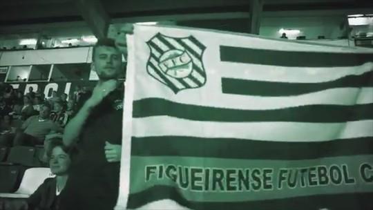 VÍDEO: Figueira convoca torcida para jogo diante do Boa Esporte