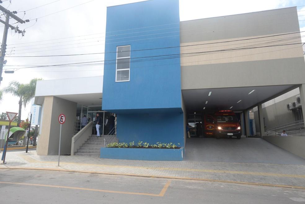 Santa Casa de Irati interditou leitos da UTI geral — Foto: AEN/Divulgação