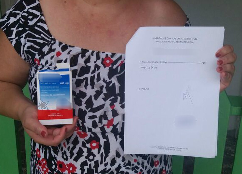 Secretaria de Saúde da BA garante hidroxicloroquina para pacientes com receita e exames que comprovem uso — Foto: Francielle Martins/Arquivo Pessoal