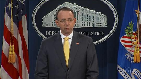 Justiça americana acusa formalmente 13 russos de interferir na eleição dos EUA