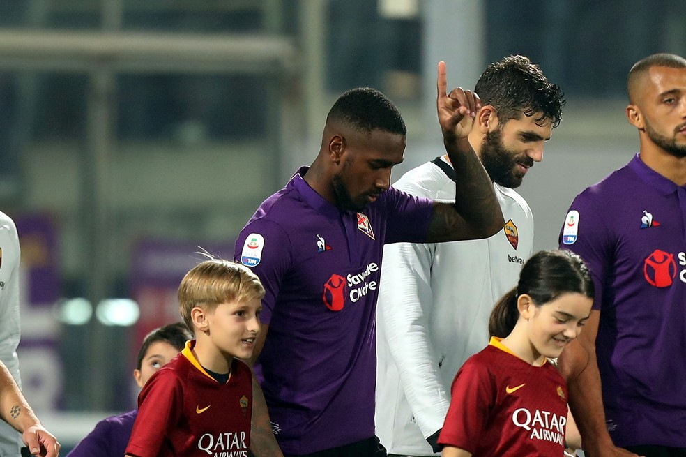 Gerson defendeu a Fiorentina na última temporada do Calcio — Foto: Gabriele Maltinti/Getty Images