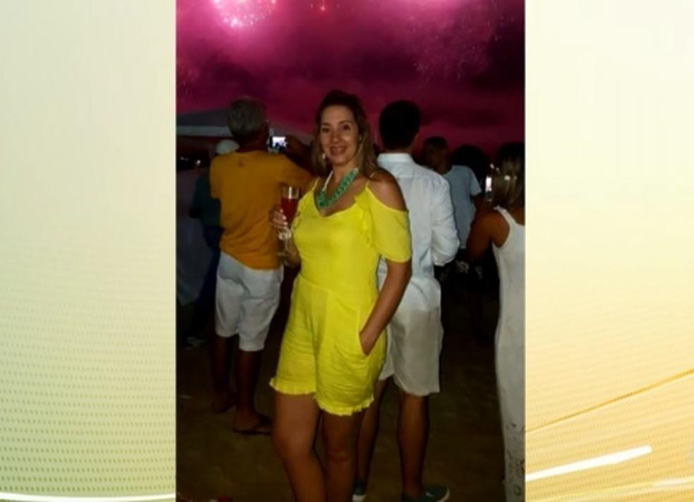 Adriana Leal morreu seis dias após fazer uma lipoescultura em Niterói (Foto: Reprodução/TV Globo)