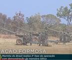 TV Brasil exibiu o treino em Formosa  | Reprodução