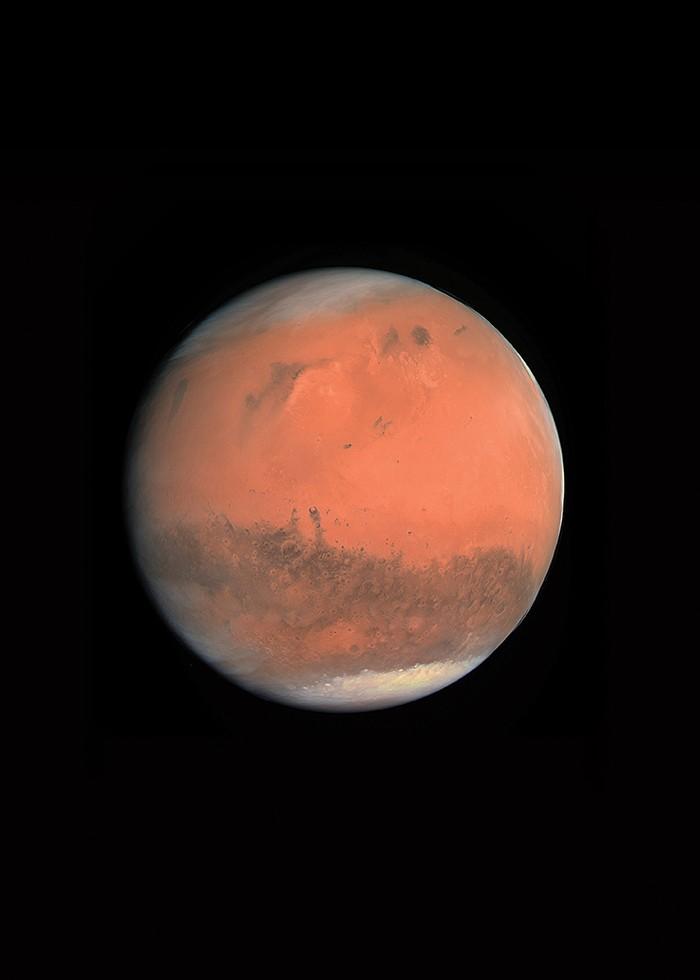 Planeta Marte  (Foto: Planeta Marte (Foto: Nasa JPL — Caltech))