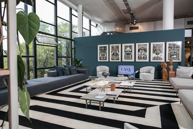Conheça o espaço da Casa Vogue na SP-Arte 2018 (Foto: Deco Cury)