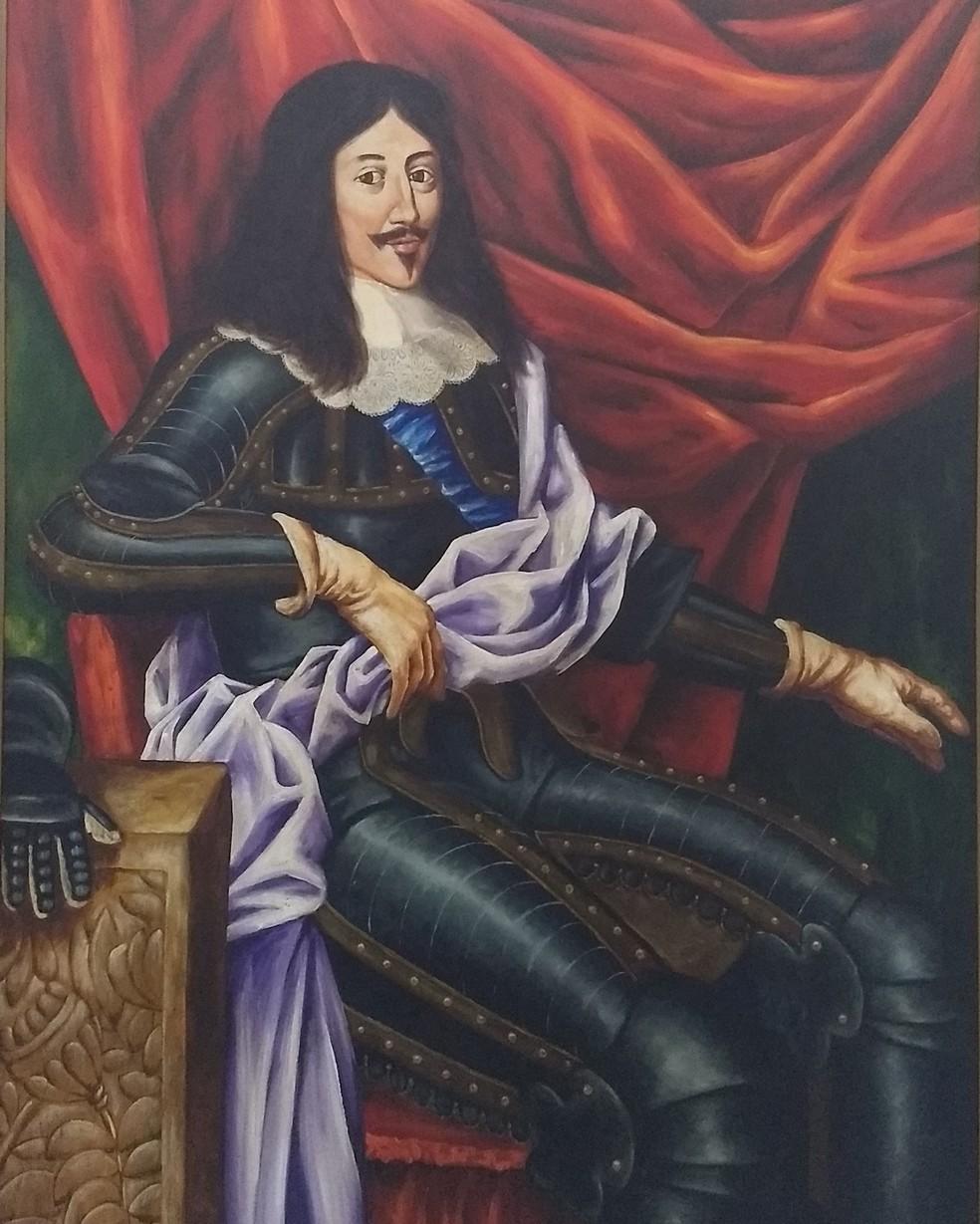 Rei Luís XIII, a quem se deve o nome 'São Luís' à capital maranhense (Foto: Rafael Cardoso/G1)