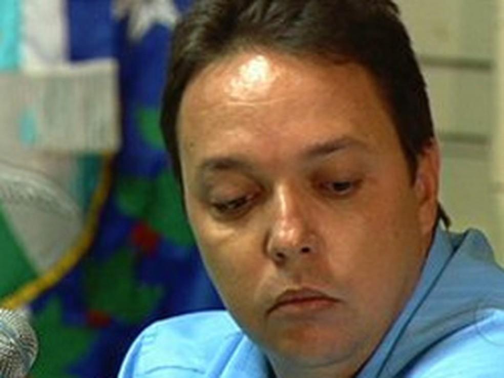 Cristiano Girão perdeu o mandato na Câmara de Vereadores do Rio, após decisão de mesa diretora — Foto: Reprodução/ TV Globo