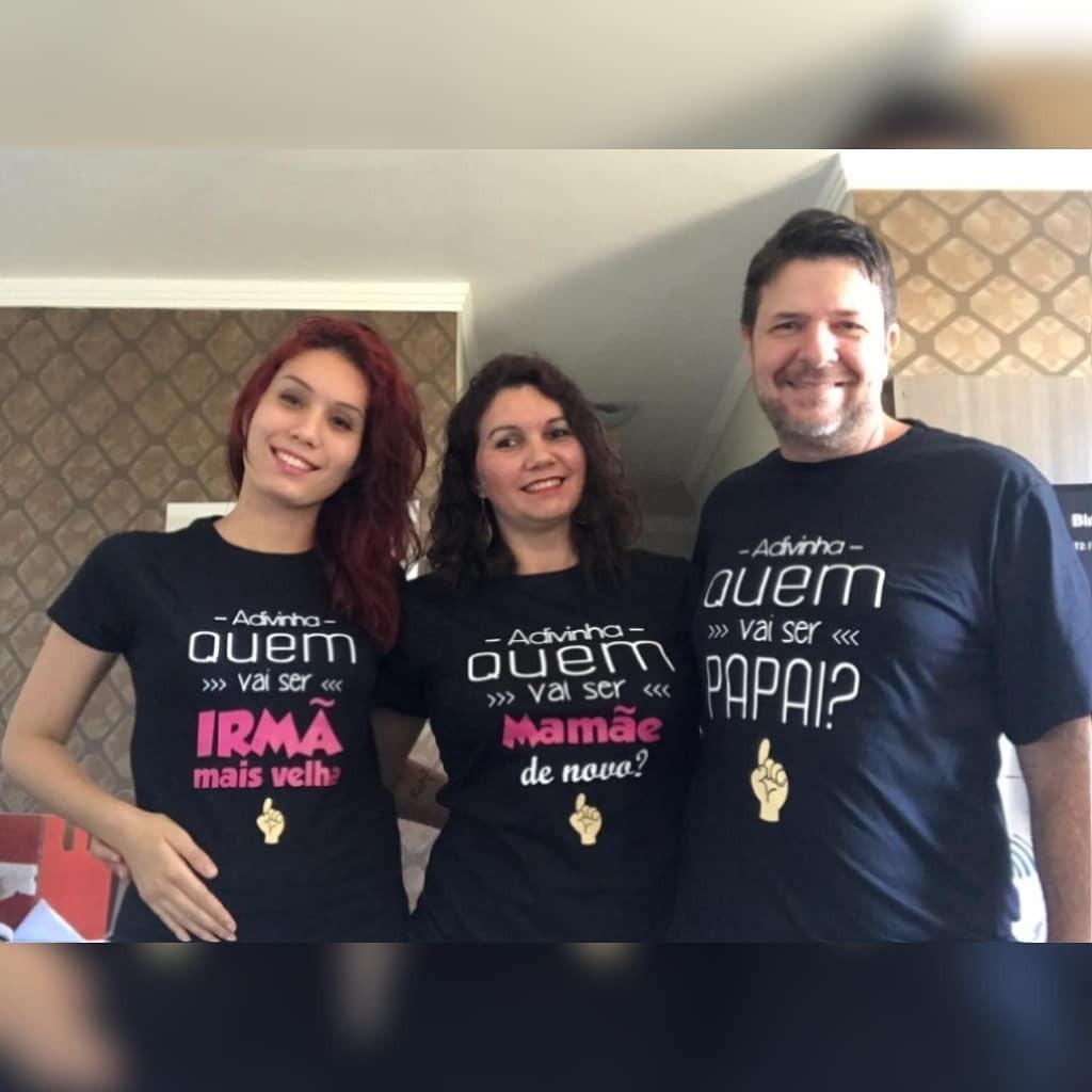 Jessica, Andreia e Rogério (Foto: Arquivo pessoal)