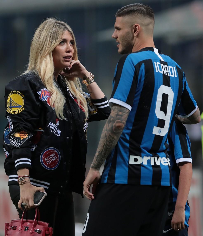 Jornal: Icardi é avisado que não jogará mais na Inter, e Wanda Nara cogita  processar clube | futebol italiano