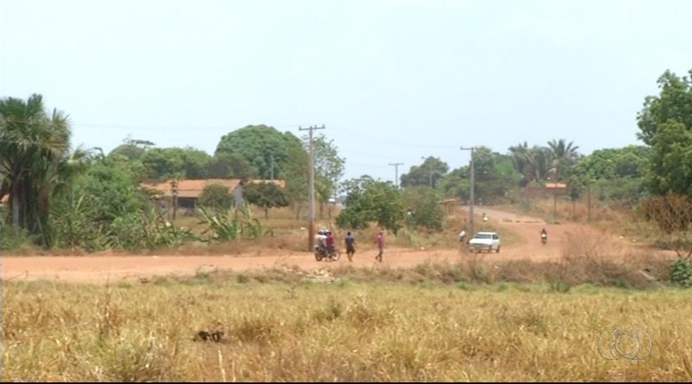 Crime aconteceu no setor Nova Araguaína (Foto: Reprodução/TV Anhanguera)