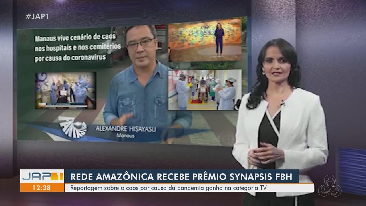Grupo Rede Amazônica vence prêmio nacional de jornalismo