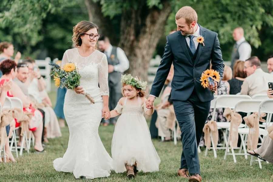 Enfim casados! (Foto: Amethyst & Sage Portraits)