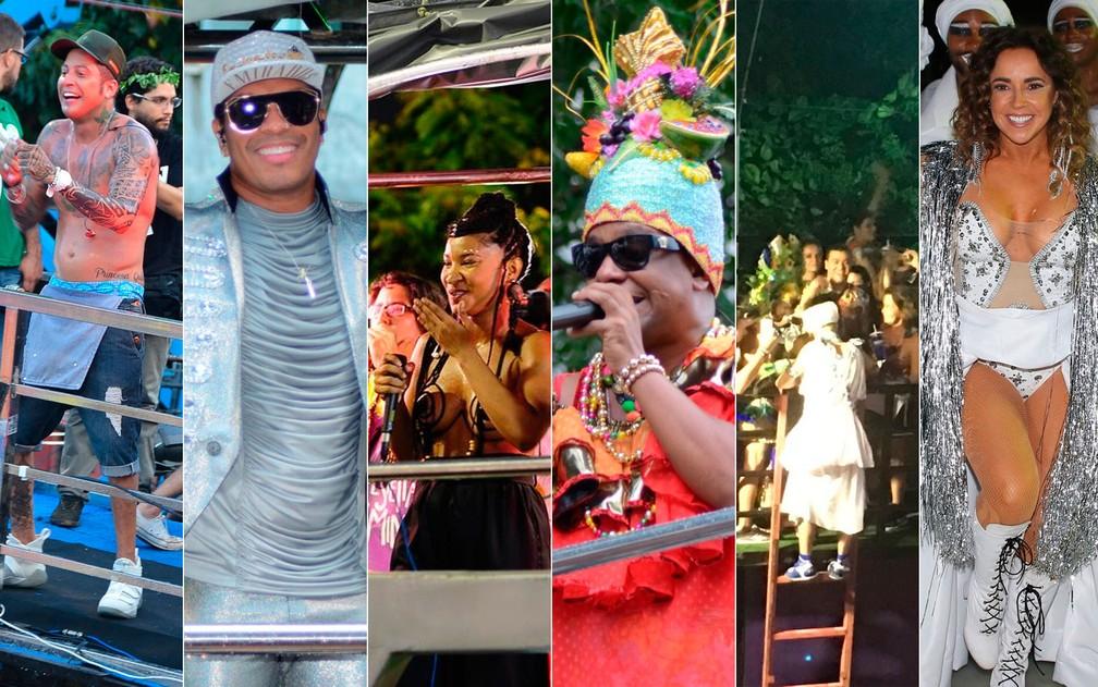 Segunda-feira de carnaval em Salvador (Foto: Arte/G1)