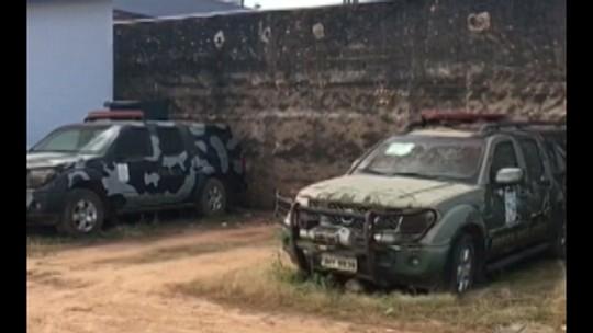 Carros da Força Nacional de Segurança estão abandonados em São Félix do Xingu