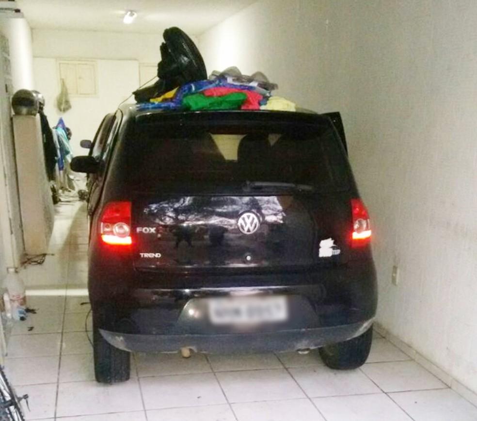 Família é alvo de arrastão na Zona Sul de Natal (Foto: PM/Divulgação)