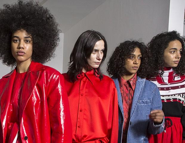 Os anos 80 foram o principal destaque da Semana de Moda de Milão (Foto: Imaxtree)