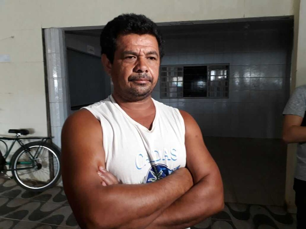 Gleison, que conhecia Misael, se surpreendeu com o crime: 'Era calmo, na dele'  (Foto: Vitor Santana/G1)