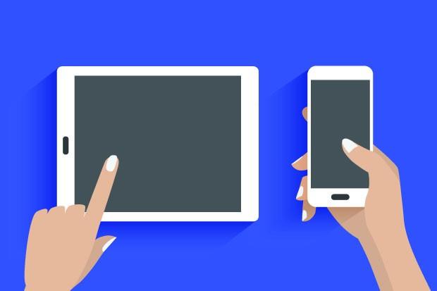 Ilustração de Smartphone e Tablet (Foto: Thinkstock)
