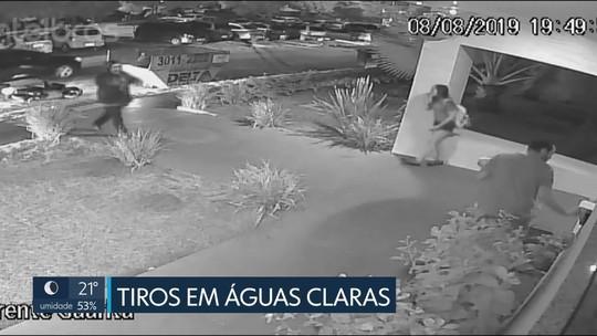 Polícia prende suspeito de atirar em homem na porta de prédio em Águas Claras