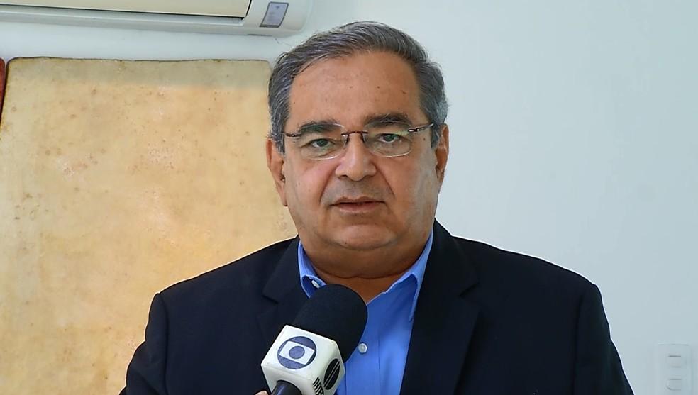 Álvaro Dias (MDB), prefeito de Natal  — Foto: Reprodução/Inter TV Cabugi