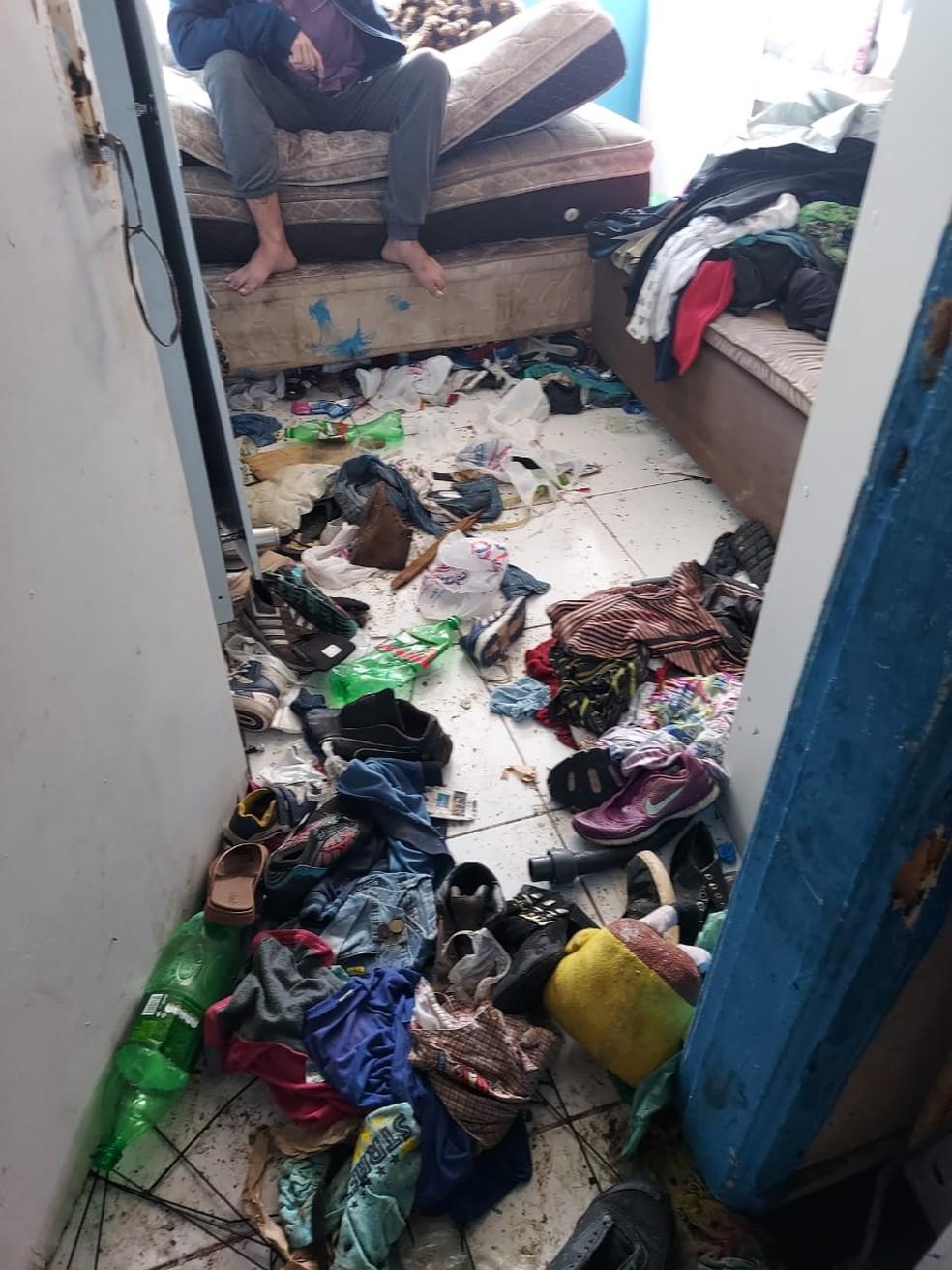 Caso ocorreu em Ponta Grossa, nos Campos Gerais do estado — Foto: Guarda Municipal