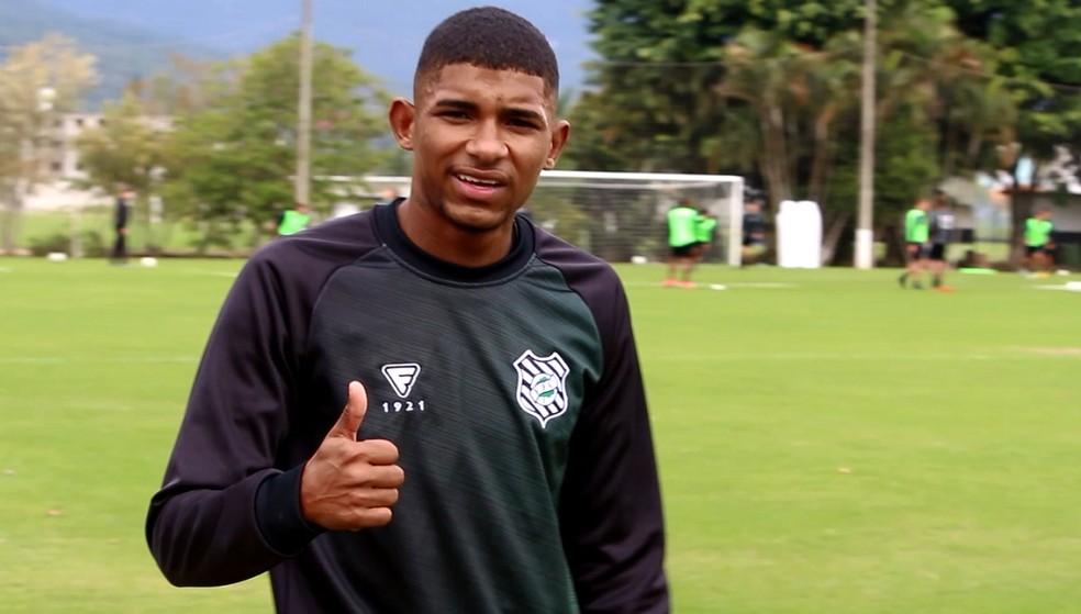 Gabriel Lima é reforço do Figueira para a Série B — Foto: Andrey de Oliveira / Figueirense FC