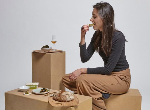 comida feita a partir de fungo (Foto: Deezen/ Reprodução)