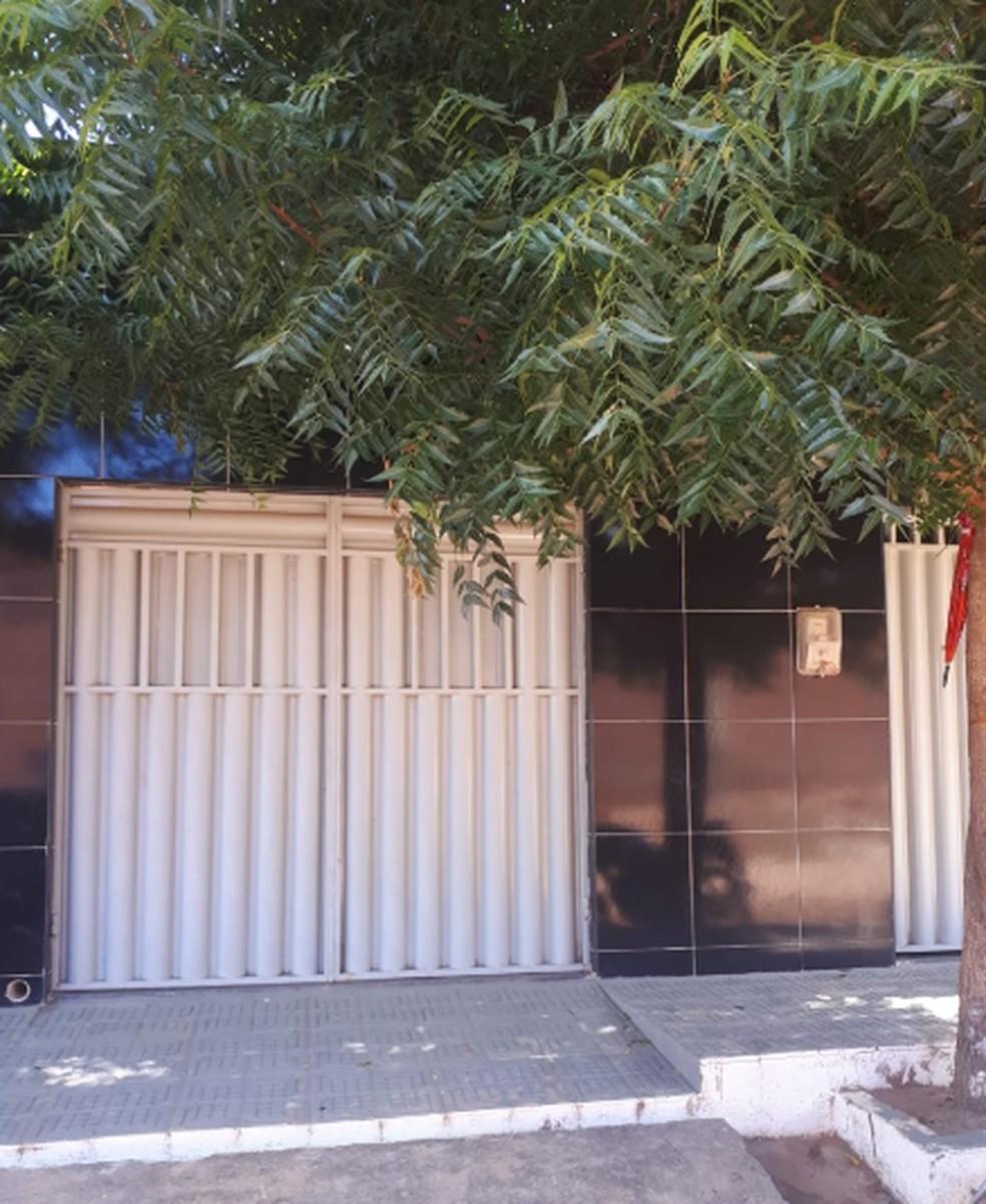As residências serviam para os traficantes guardarem as drogas. Dois imóveis foram sequestrados pela Polícia Civil. — Foto: Polícia Civil de Juazeiro do Norte