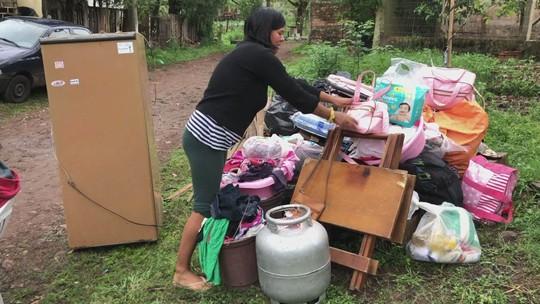 Cheia do Ibirapuitã deixa mais de 150 pessoas fora de casa em Alegrete