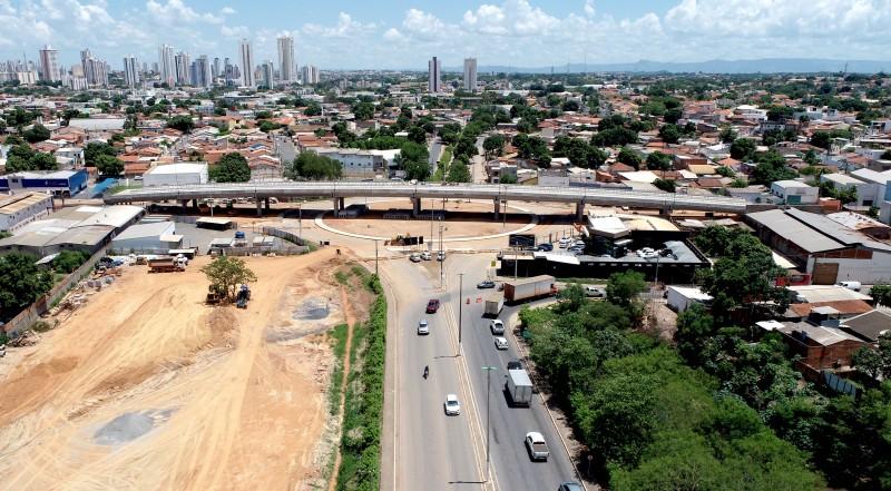 Prefeito estende prazo e viaduto Murilo Domingos em Cuiabá deve ser entregue segunda-feira (10)