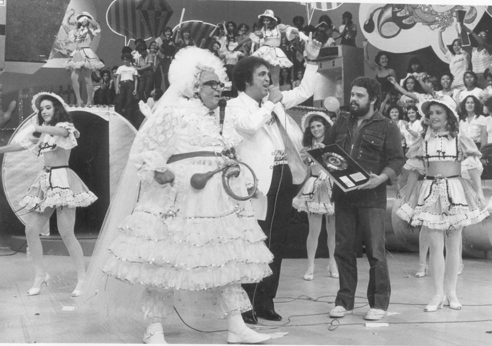 Cassino do Chacrinha estreou na Rede Globo em 1982 e ficou no ar até 1988 — Foto: Arquivo
