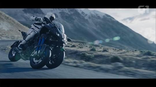 Yamaha aposta em primeira moto de 3 rodas com alta cilindrada, a Niken