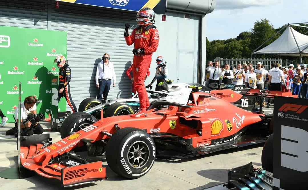 Leclerc vence em Monza, GP da Itália