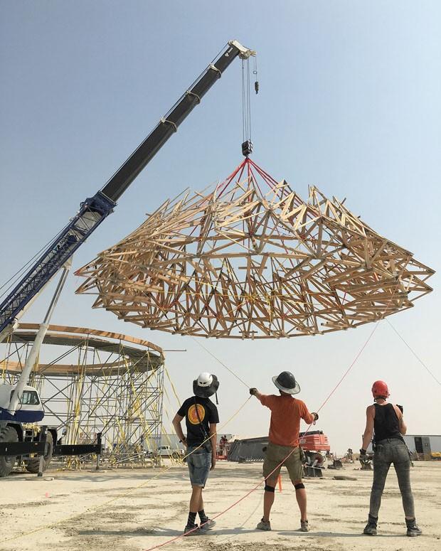 Burning Man 2018: as instalações artísticas do festival do deserto  (Foto: Reprodução Instagram)