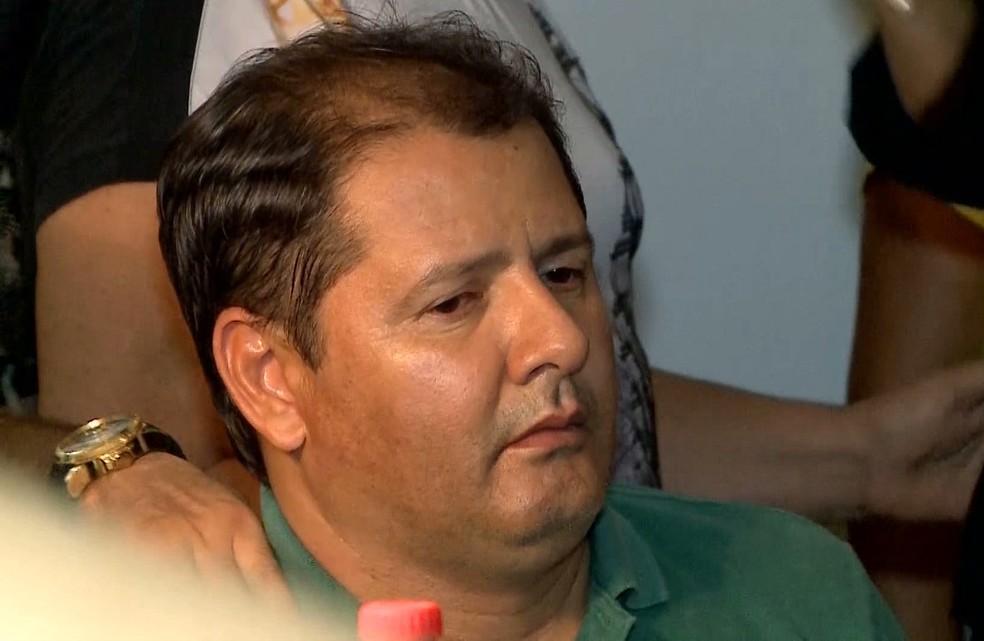 Mariano Filho é considerado um dos suspeitos da morte do próprio pai, o ex-prefeito de Barra do Corda. — Foto: Reprodução/TV Mirante