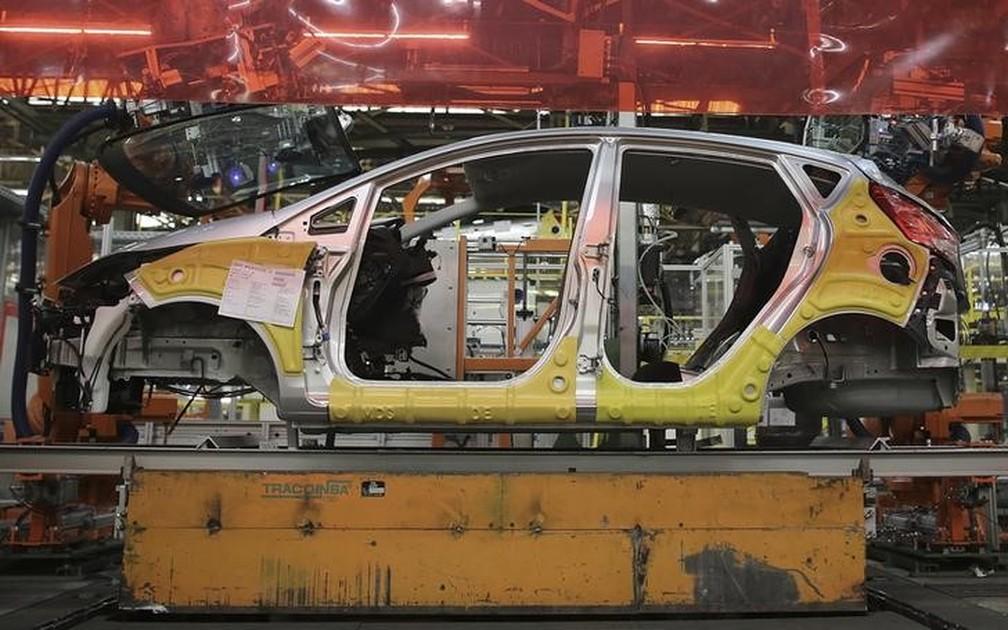 Imagem de 2017 da fábrica da Ford em São Bernardo do Campo (SP), que está desativada — Foto: Reuters/Nacho Doce