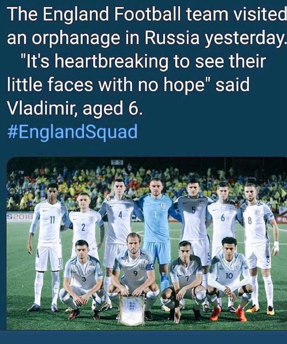 -  English Team  Foto: Reprodução