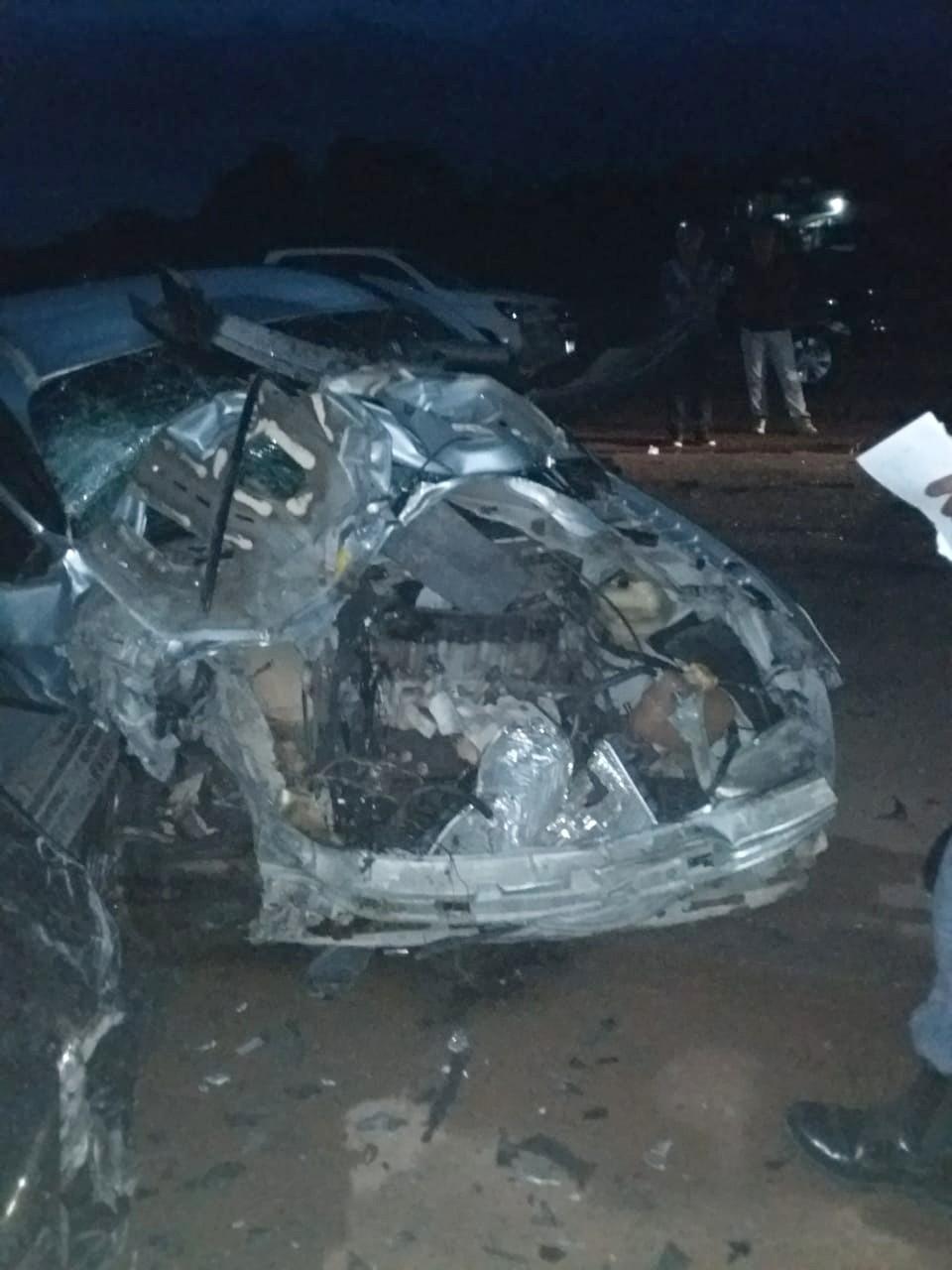 Homem fica ferido após acidente entre três carros na rodovia AM-070 - Noticias