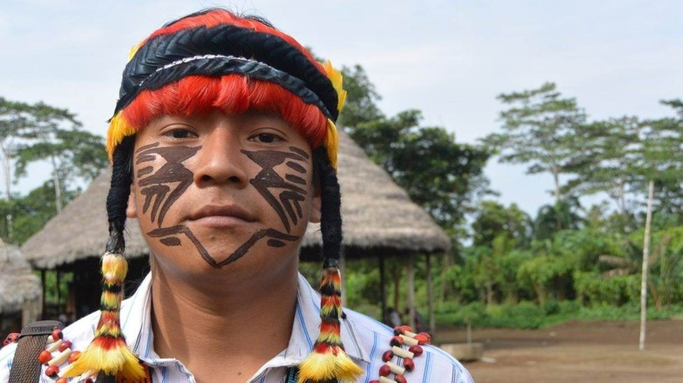 Canelos quer desenvolvimento, mas sem estradas em seu território (Foto: BBC)