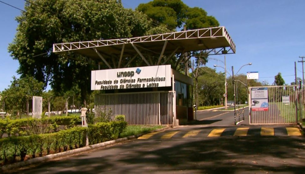 Campus da Unesp de Araraquara — Foto: Rodrigo Sargaço/EPTV