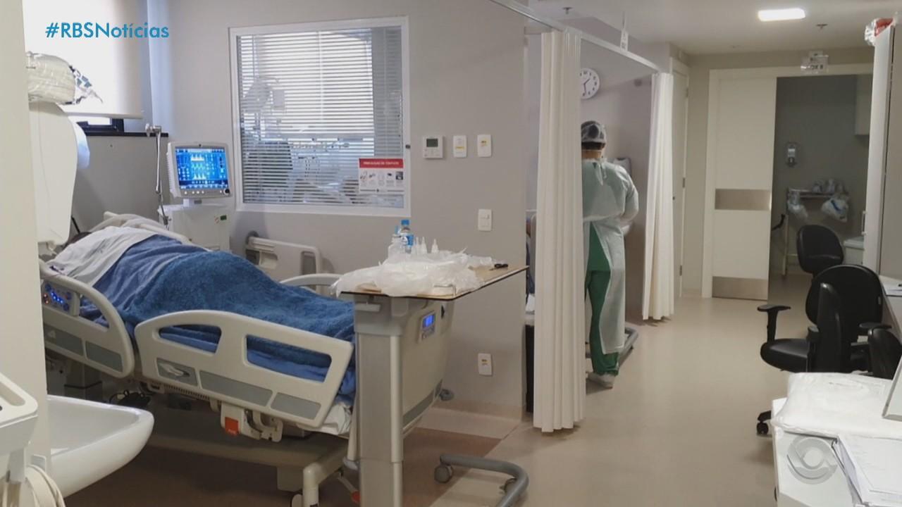 Hospitais de Porto Alegre superam 100% de ocupação pela primeira vez durante a pandemia