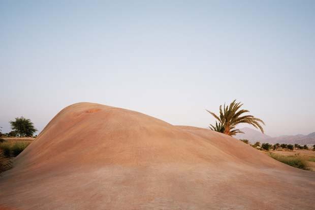 Jordânia tem Clube de Golf em formato de Dunas   (Foto: Divulgação)