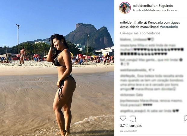 Post de Mileide Mihaile (Foto: Reprodução/Instagram)