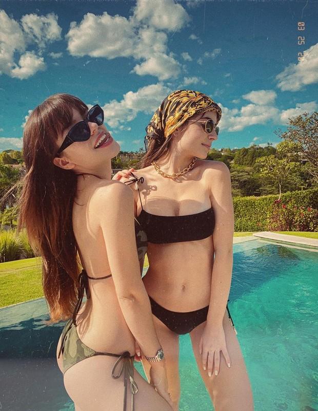 Maria Brasil e Jade Picon (Foto: Reprodução/Instagram)